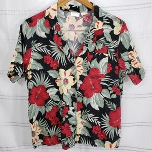 Erika Vintage Hawaiian Tropical Shirt